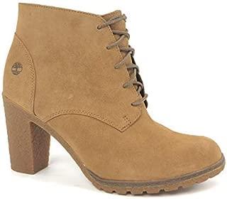Women's Tillston High Heel Wheat Chukka Boots