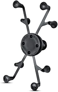 Ram Mount Universal X-Grip II Tablet Holder with 1-Inch Ball for Small Tablets Including iPad Mini (RAMHOLUN8BU)