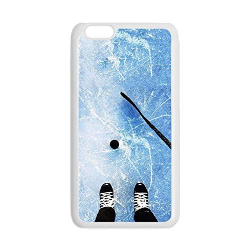 Have with Hockey 5 Protect Hard Abs Case Compatible with iPhone 6 Man Choose Design 123-3