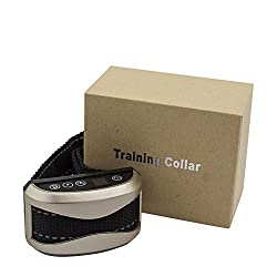 KORIER 2019 Upgrade Version Dog Bark Collar - Sound, Vibration and Static Shock No Bark Collar - 7 Level Sensitivities Barking Shock Collar - Rechargeable and Rainproof Anti Barking Collar for Dogs