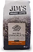 Sponsored Ad - Jim's Organic Coffee – Double Chocolate, All Natural Flavored Blend – Light Roast, Ground Coffee, 12 oz Bag