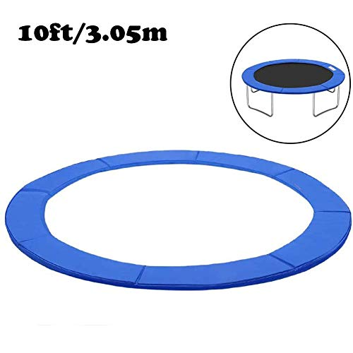 ZWFPJQD Universal spring cover padding - trampoline edge cover Replacement Trampoline Surround Pad/Trampoline Pad Protection Cover,10FT