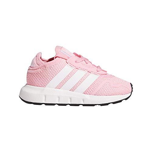 adidas Swift Run X I, Zapatillas Deportivas Unisex niños, Light Pink FTWR White Core Black, 20 EU