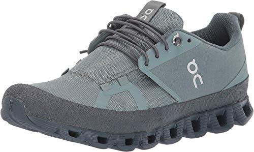 On Running Damen Cloud Dip Textile Synthetic Trainer, Grün - grün (Sea Stone) - Größe: 40.5 EU