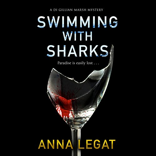 Swimming with Sharks audiobook cover art