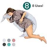 Koala Babycare Almohada para Embarazadas para Dormir y Amamantar U Pillow con...