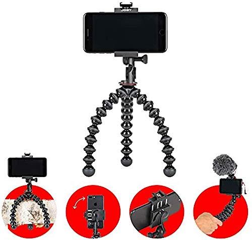 JOBY JB01551-BWW GripTight PRO 2 + GorillaPod Universal-Handy-Halter + Flexi-Stativ in Profi-Ausführung (geeigent für Alle Smartphones mit oder ohne Hülle)