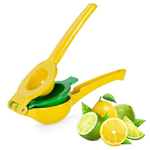 Lemon Squeezer 1PCS Double Clamp Manual Fruit Press Kitchen Tool Metal Juicer Lime Squeezer Juicer Squeezer Hand Citrus Press for Camping Home