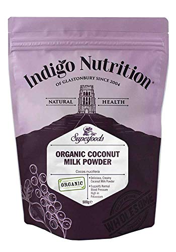 Indigo Herbs Leche de Coco en Polvo Organica 500g