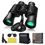 Compact Binoculars for Adults with Low Light Night Vision, 20x50 HD Waterproof Professional Powerful Binoculars for Bird, Kids Binoculars for Watching Hunting Outdoor Sports Traveling