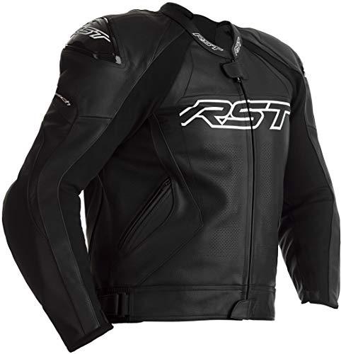RST Tractech EVO 4 Motorrad Lederjacke Schwarz 50