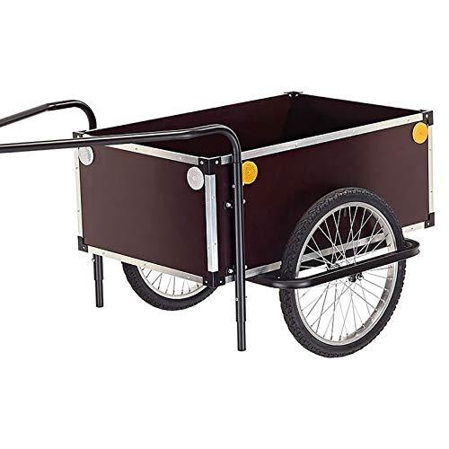 ROLAND Fahrrad-Anhänger JUMBO C mit höhenverstellbarer Doppeldeichsel