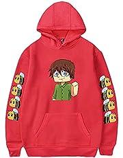 ACBANANA Hoodies voor mannen, Tubbo Merch Hoodie Cosplay Pullover lange mouw Sweatshirt Game Kleding, Bee Hoodies Tieners Meisje