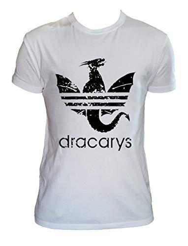 Camiseta Dracarys Hombre Niño Daenerys Targaryen Juego de Tronos Series TV, Hombre - S