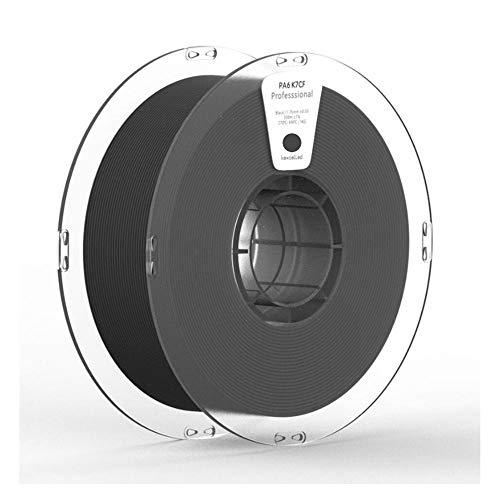 Filamento per stampante 3D 1 kg, filamento in nylon rinforzato con fibra di carbonio PA6 K7CF, plastica anziché acciaio-2,85 mm