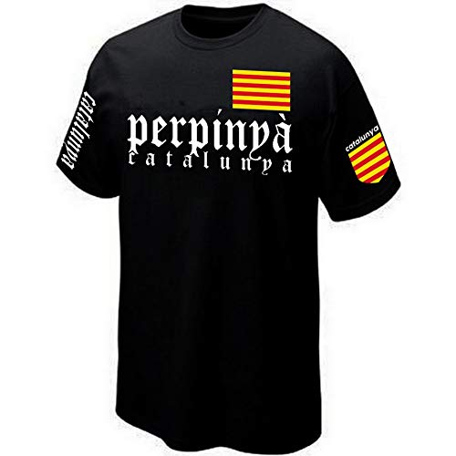 - T-Shirt Perpignan - PERPINYÀ Catalunya - Catalogne (XL)