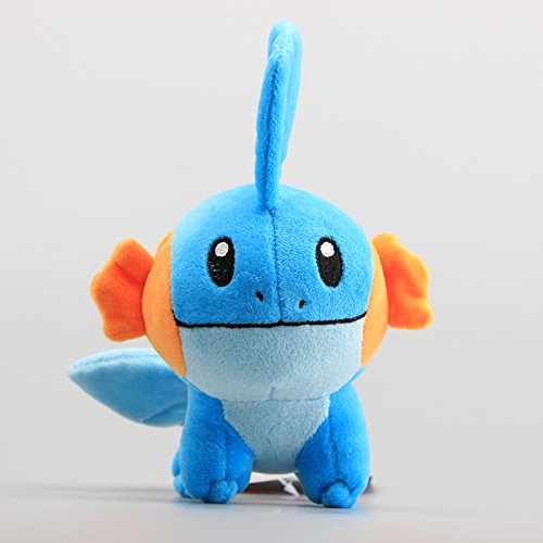 Boufery Cartoon Plush Mudkip Soft Stuffed Dolls, Anime Cute Plush Toys 6' 15 cm
