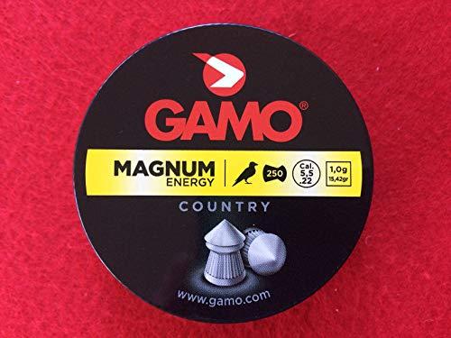 Gamo MAGNUM ENERGY .22 5.5mm AIR RIFLE/PISTOL PELLETS
