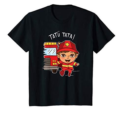 Kinder Feuerwehr Kind, Jugendfeuerwehr, Geschenk, Feuerwehrmann , T-Shirt