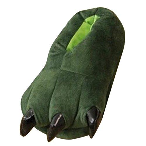 Happy Cherry - Zapatos Animal Dinosaurio de Franela Zapatillas Costume Traje de...