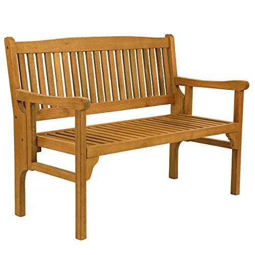 Klappbank Folding Chair Gartenbank 2-Sitzer klappbar Holz Akazie Garten Balkon