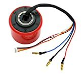 NIMBUS 5065 70mm 24v-36v 200W Brushless Outrunner Motor Hallow Shaft Hub Motor with Hall Sensor and Washers for Longboard Mini Scooter DIY Electric Skateboard