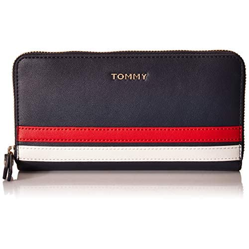 Tommy Hilfiger Tommy Staple Large Zip Around Wallet Sky Captain
