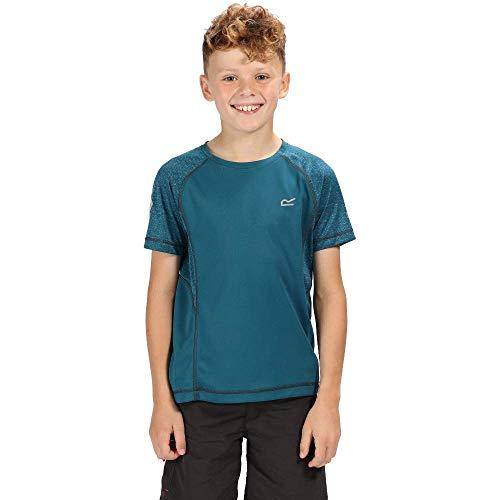 Regatta Dazzler II T- T-Shirt Mixte Enfant, SeaBlu/SeaBl, FR : XL (Taille Fabricant : 13 Ans)