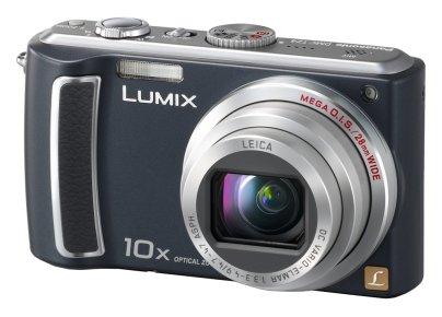 Panasonic DMC-TZ4 Black 8.1MP Digital Camera