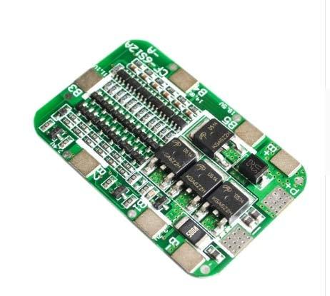 KEKEYANG 1S 2S 3S 4S 3A 20A 30A Batería de Litio Litio Litio 18650 Cargador PCB BMS Tablero de protección para Motores de Taladro Módulo de células LIPO 5S 6S Placa Controladora (Color : 6S 15A 24V)