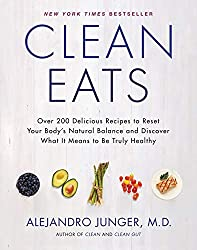 Food Conscientious is a learning curve, illustrated by this book 'Clean Eats' by Alejandro Junger