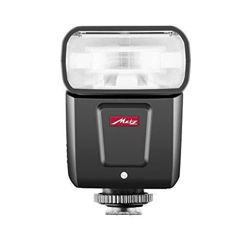Metz M360 - Flash para Fujifilm (ISO 100 y 105 mm, Zoom motorizado de 24 a 105 mm, difusor Gran Angular de 14 mm) Negro