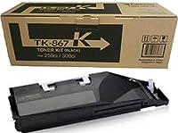 KYOCERA TK-867K BLACK TONER CARTRIDGE FOR USE IN TASKALFA 250CI 300CI ESTIMATED [並行輸入品]