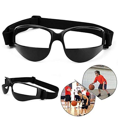 Modaka Gafas de protección, Gafas de regate de Baloncesto Entrenamiento Anti-Basse–Gafas de Deporte, Negro, Paquete de 1