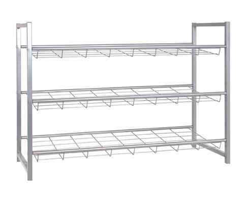 Haku Möbel 38717 zapatero, 30 x 80 x 60 cm, aluminio