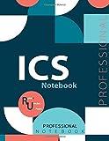 "ICS Notebook, Examination Preparation Notebook, Study writing notebook, Office writing notebook, 140 pages, 8.5"" x 11"", Glossy cover"