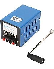 Handslinger, 20 W, 2000 omw/min, draagbaar, met USB-aansluiting, handmatige zwengel, generator voor noodcommunicatie, toerisme, noodstroom