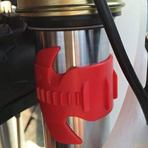 Foxglove Universal Motorrad Vorderraddichtung Oil Clean Gabelreiniger Ölreinigungsgabel Dichtungsreiniger Stoßdämpfer Werkzeug 45mm-55m