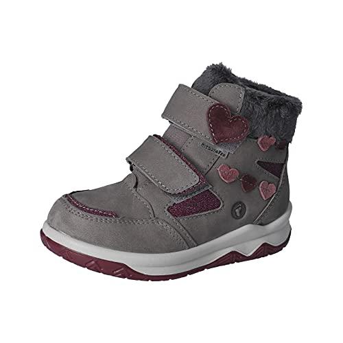 RICOSTA Mädchen Boots LEA, Weite: Mittel (WMS),lose Einlage, TEX,gefüttert,wasserdicht,Kids,Winterboots,warm,Patina (474),27 EU / 9 Child UK
