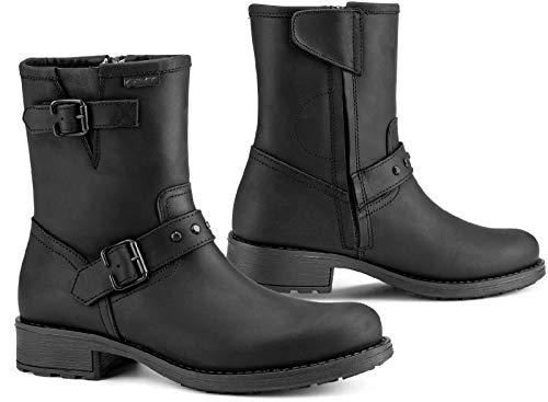 Falco Damen Stiefel Dany 2 schwarz wasserdicht mit Protektoren, 40