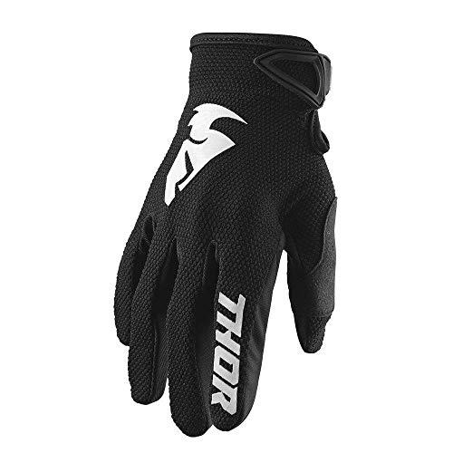 schwarz Thor Spectrum Motocross MTB Kinder Handschuhe 2018
