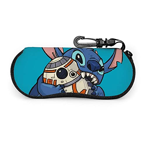 Stitch Star The Wars - Estuche para gafas de sol con cremallera Fundas de Gafas