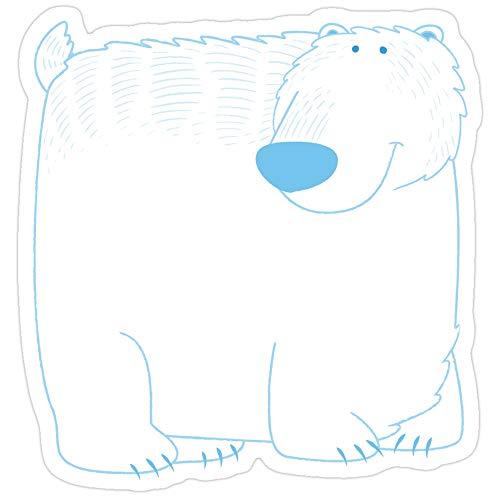 Deangelo Eisbär-Aufkleber, 3 Stück