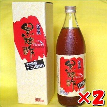 八重泉・黒麹酢(もろみ酢) 900ml入瓶×2
