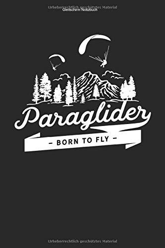 Gleitschirm Notizbuch: 100 Seiten | Kariert | Gleiten Pilot Fliegen Paragliden Geschenk Flug Glide Schirm Glider Gleit Flieger Paragliding Flugsport Team Tandem Paraglider