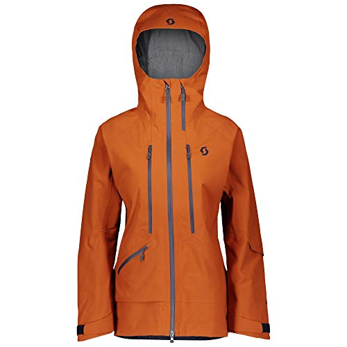 Scott W Vertic GTX 3L Jacket Orange, Damen Gore-Tex Windbreaker, Größe M - Farbe Brown Clay