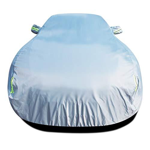 Funda para Coche Compatible con tamaño de Peugeot 406 coche cubrir cualquier estación impermeable y cortaviento de coches UV cobertura universal llena de ropa de apertura de carros de tela Oxford cubi