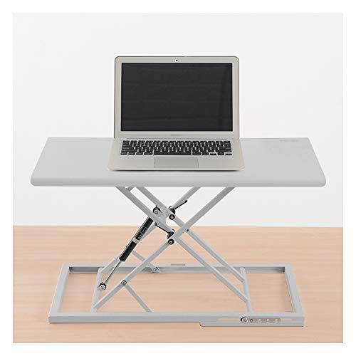 SSSY Convertidor de Escritorio, Escritorio De Pie Plegable Standing Desk Converter, Ajustable En Altura Estación de Trabajo