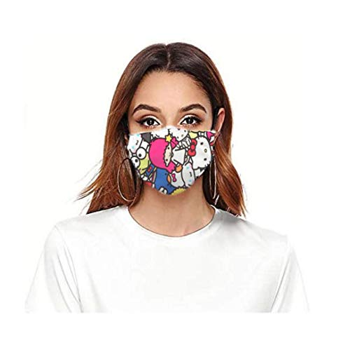 ROXX (Kitty and Friends Outdoor Mask with Changeable Filter, Unisex Anti Pollen Allergens Filters Dust Includes 1 Filter