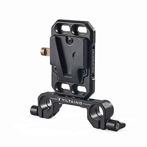 (small) Tilta TA-PBP-K1-V Tiltaing Pocket V-mount Battery Plate +15mm Rod adapter (battery NOT included, No power ports)
